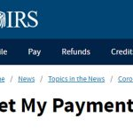 IRS relaunches Get My Payment portal for 2nd coronavirus stimulus 6