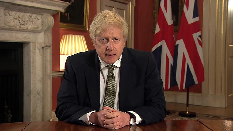 UK Prime Minister Boris Johnson announces national lockdown for England 1