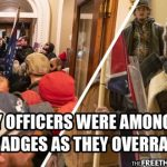 D.C. Cop Speaks Out, Says Cops Were Among Rioters Storming Capitol, Flashed Badges to Get In 3