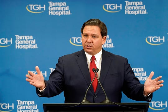 Florida Gov. Ron DeSantis spars with CNN reporter over state's COVID-19 vaccine rollout, blames hospital officials in one county 1