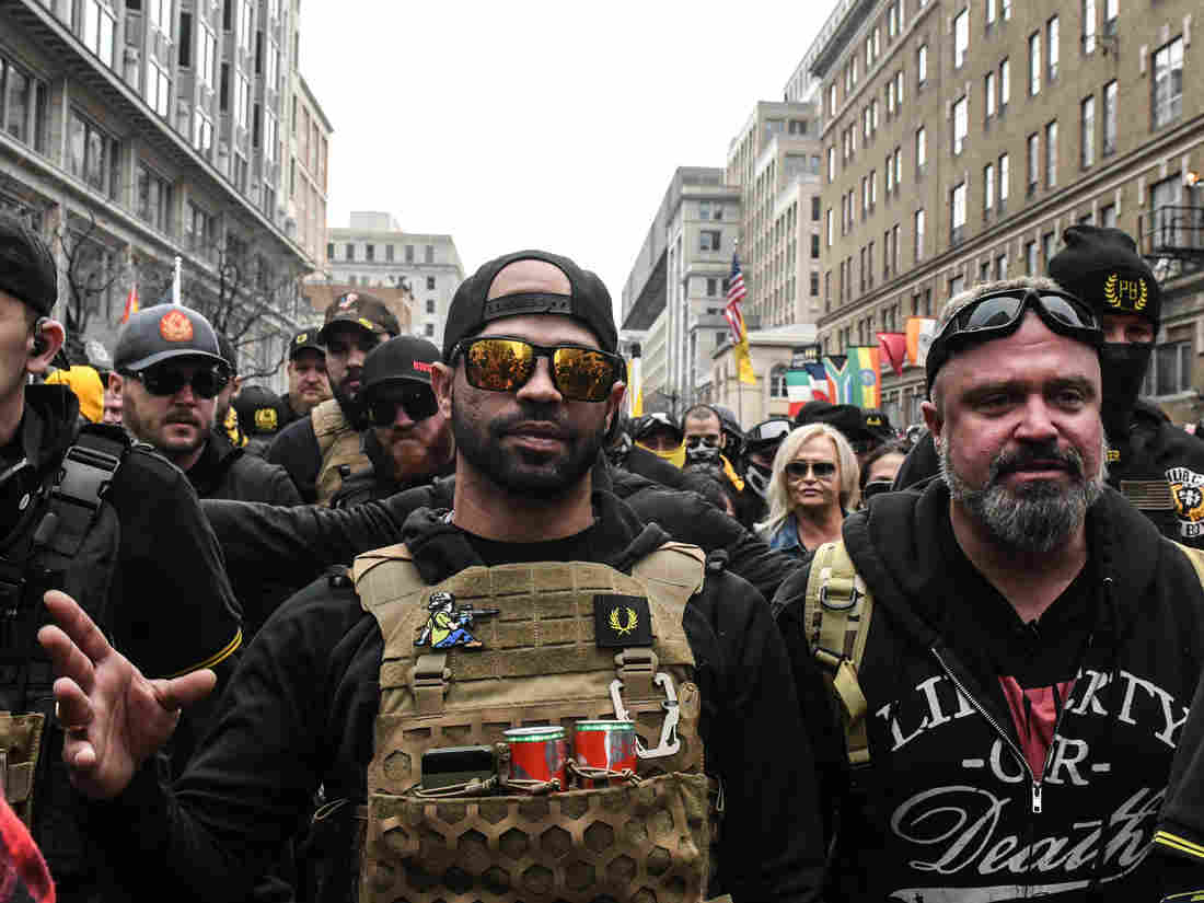 D.C. Police Arrest Leader Of The Proud Boys Ahead Of Far-Right Protests 1