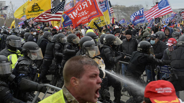 """What we know about the """"unprecedented"""" Capitol riot arrests 1"""