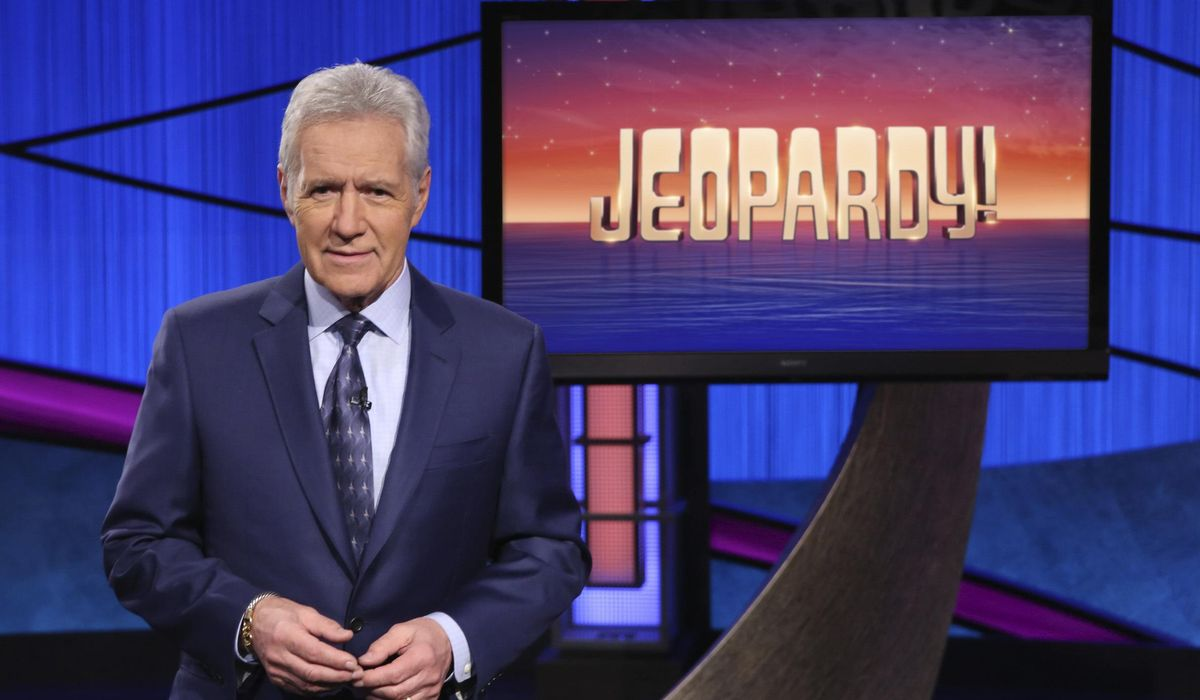 Trebek urges support for COVID-19 victims in 1 of last shows 1