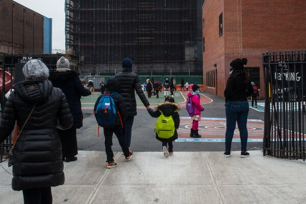 Fight Over Closing Schools Reignites as N.Y.C. Positive Rate Tops 9% 1