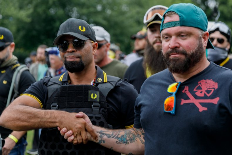 Proud Boys Leader Banned from D.C. As Members Attend Pro-Trump Protests Incognito 1