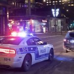 Sirens, Checkpoints, Protests: Scenes From Quebec's First Night of Curfew 19