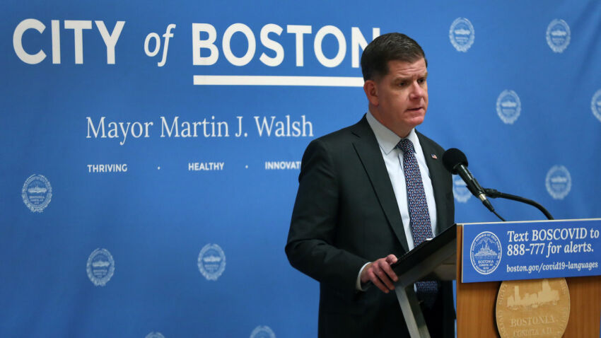 Marty Walsh extends citywide restrictions as COVID-19 hospitalizations rise — and warns more rules may be needed 1