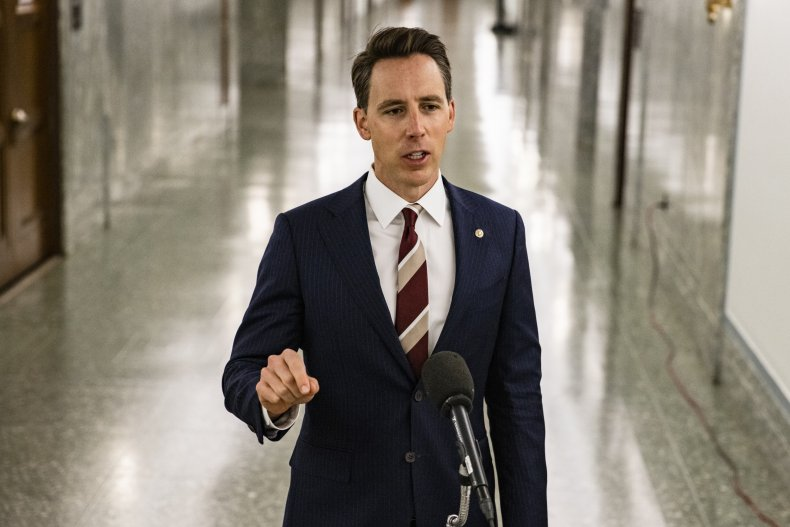 Activists Defend Josh Hawley House Protest: 'It Was a Candlelight Vigil, Snowflake' 1