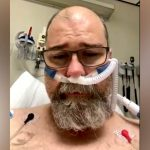 COVID anti-masker gasps for breath as he issues plea from hospital bed 7