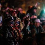 Protesters clash with DC police on eve of Trump rally 8
