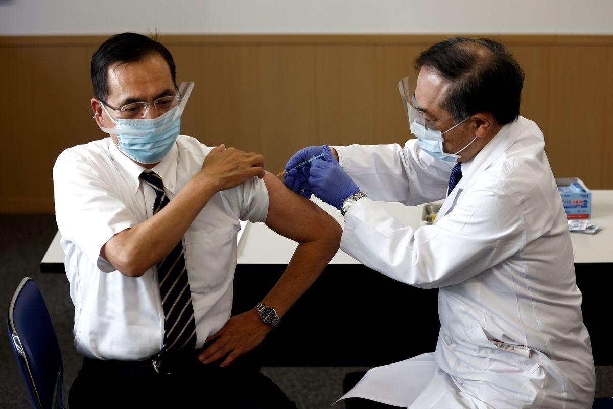 Japan's Olympic hopes rest on a successful Covid-19 vaccine drive 1