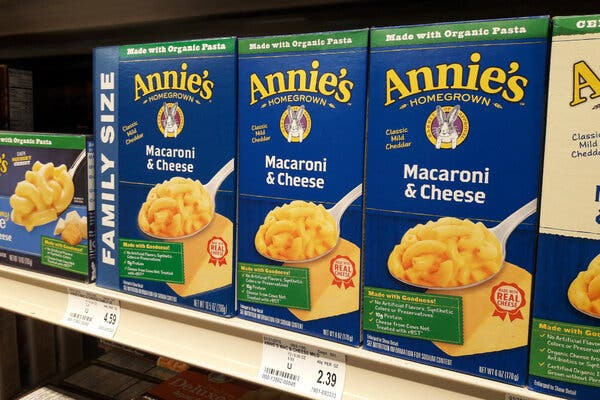 Annie's Pledges to Purge a Class of Chemicals From Its Mac and Cheese 1
