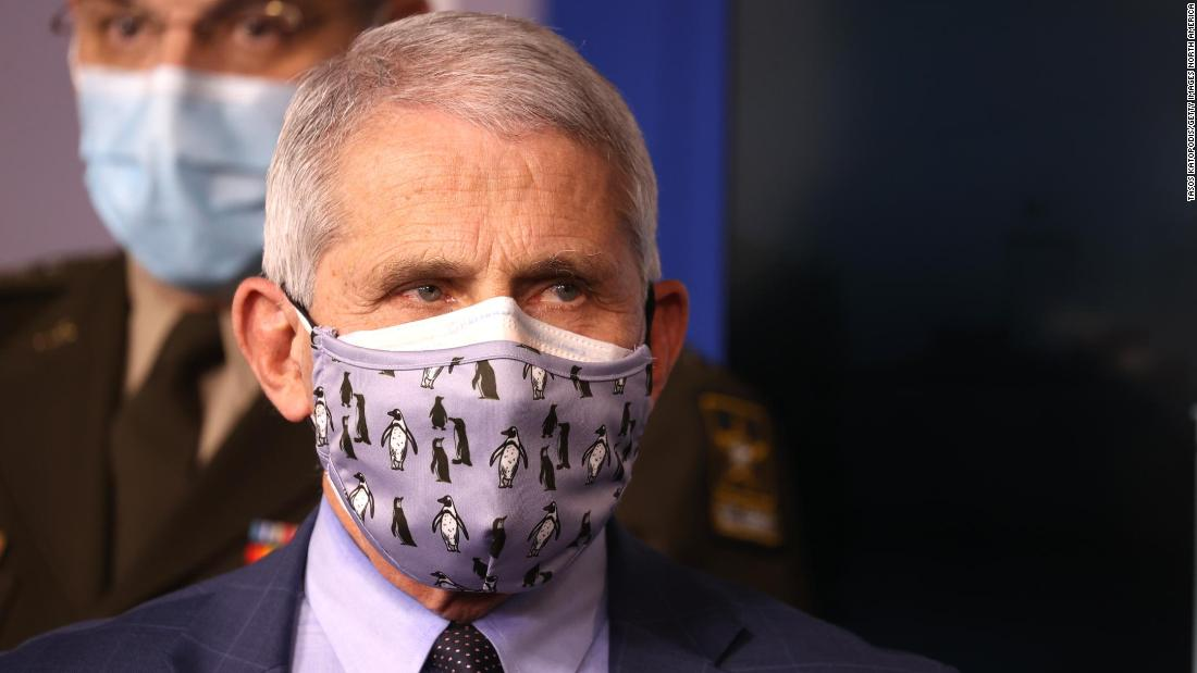 Fauci: 'Possible' Americans will be wearing masks in 2022 to protect against Covid-19 1