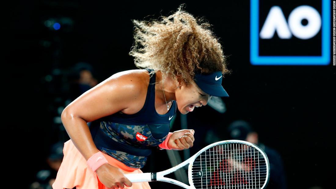Naomi Osaka overcomes Jennifer Brady to win second Australian Open title 1