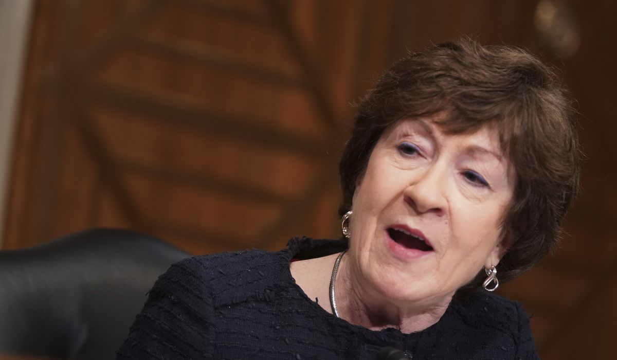 Susan Collins: Coronavirus relief talks between White House, Senate Republicans have 'stalled' 1