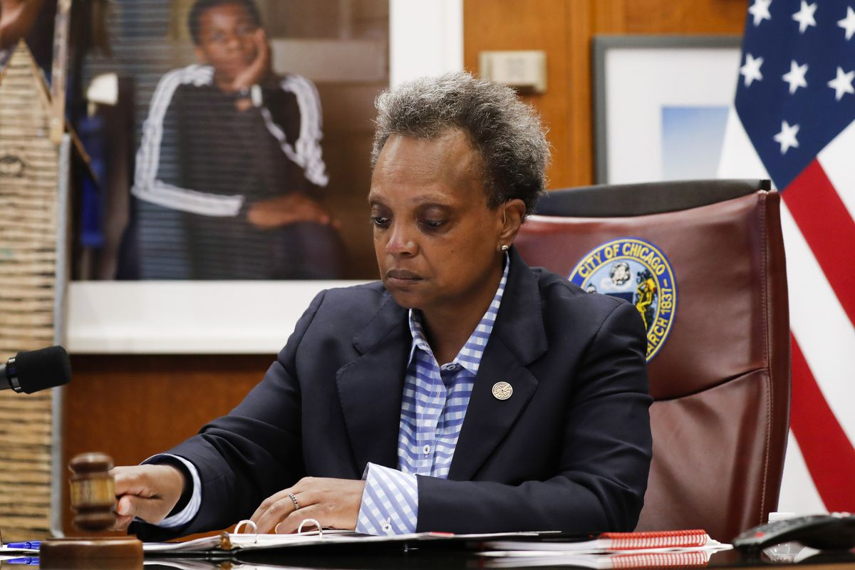 Chicago Mayor Lori Lightfoot defends spending $281.5 million in federal COVID-19 relief money on police payroll, says criticism is 'just dumb' 1
