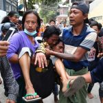 Mass protests and funeral follow deadly shootings in Myanmar 7