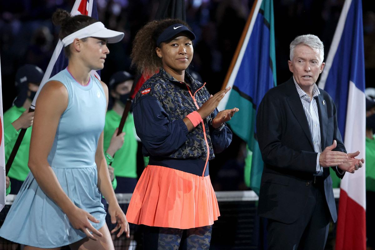 Naomi Osaka's awkward Australian Open interview moment goes viral 1