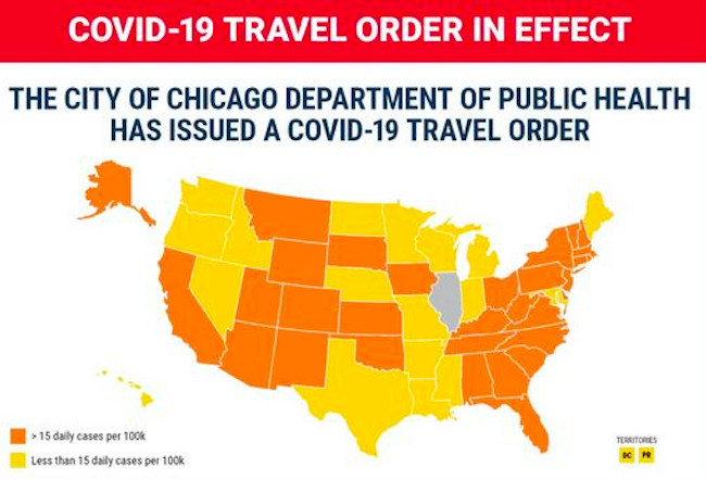 Summer in the city? Chicago eases travel limits as statewide COVID-19 infections, hospitalizations hit July numbers 1