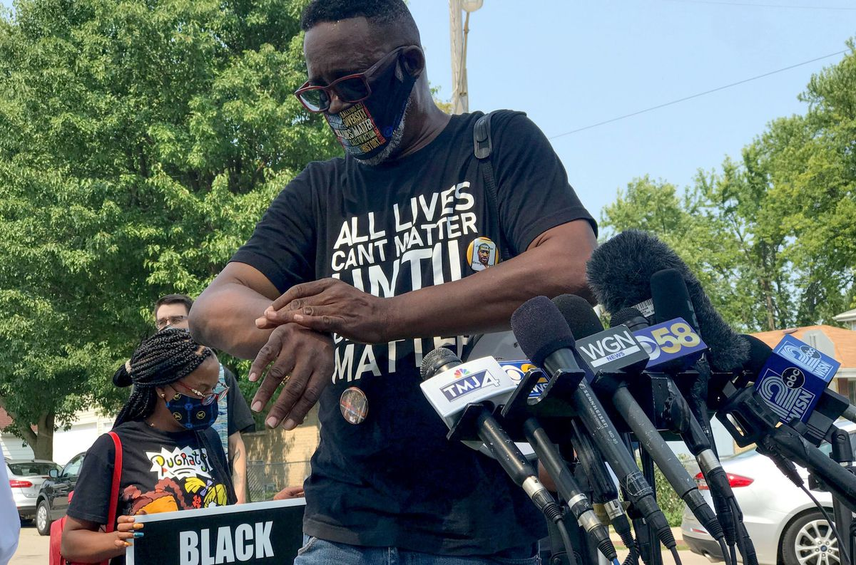 Black Lives Matter activist charged with felony for alleged actions during protests in Kenosha over police shooting of Jacob Blake 1