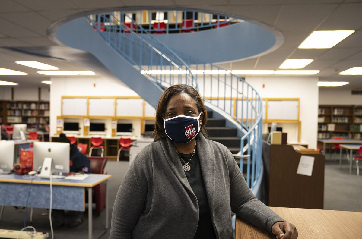 CPS high schools still have no reopening date. Here's how one principal is helping her students cope in the meantime. 1
