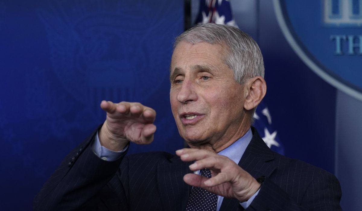 Dr. Anthony Fauci: We need to keep our coronavirus guard up 1