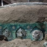 Archeologists find intact ceremonial chariot near Pompeii 12