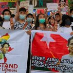 Thai marchers link their democracy cause to Myanmar protests 9