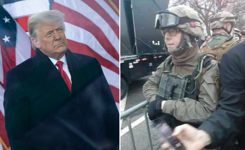 Capitol Riot 'Oath Keeper' Seeks Release From Custody, Claiming Trump Led Insurrection 1