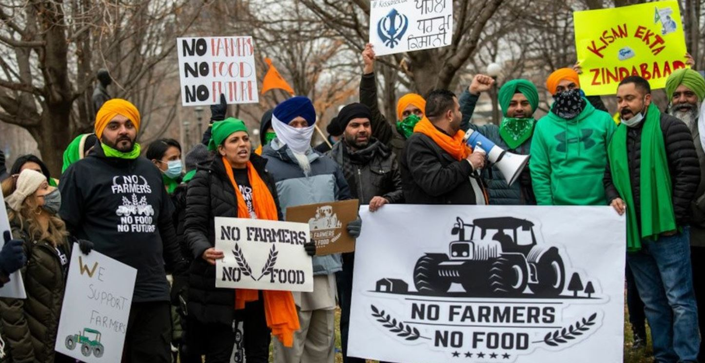 """US Farmers and Food Justice Groups Declare """"Solidarity"""" With Indian Farmer Protests 1"""