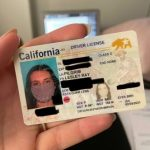 California woman's new REAL ID has a photo of her wearing a face mask 7