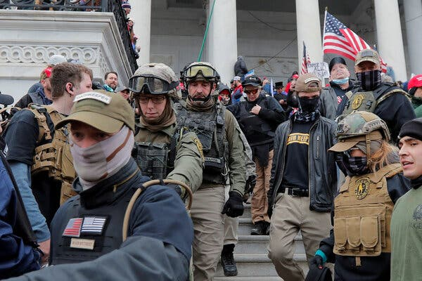 More Oath Keeper Suspects Charged in Capitol Riot Plot 1