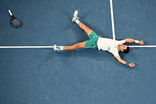 Novak Djokovic Wins Third Straight Australian Open Title 1