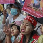 More Myanmar protests follow strike, foreign concerns 7