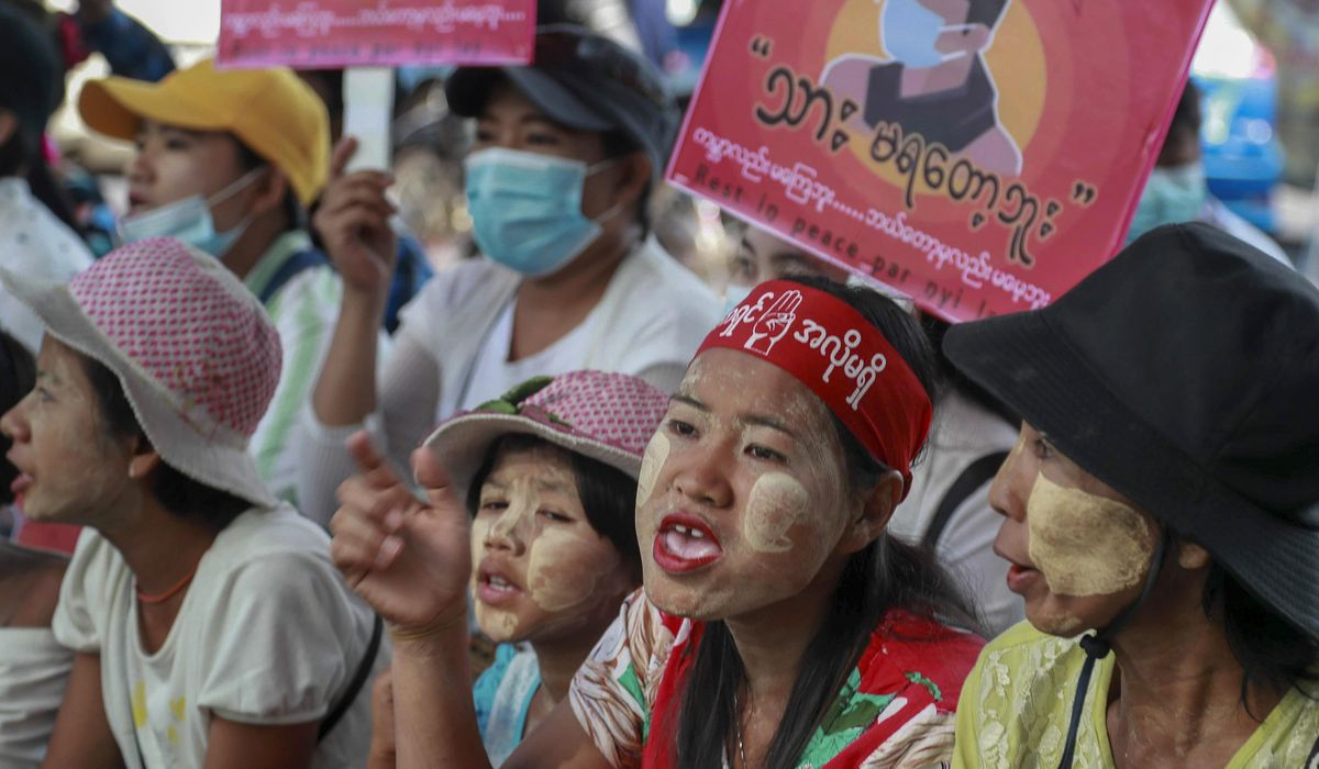 More Myanmar protests follow strike, foreign concerns 1