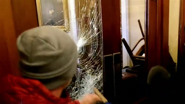 Mother and son from Iowa arrested in Capitol riot, FBI says 1