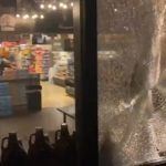 Anti-ICE rioters smash up downtown Portland in response to Biden's child-migrant facilities 8