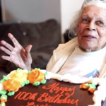 105-year-old woman beats COVID-19 7