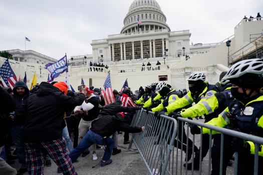 Capitol riot suspect: 'FBI may arrest me ..lol.' The FBI did. 1