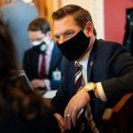 Representative Eric Swalwell Sues Trump Over Capitol Riot 14
