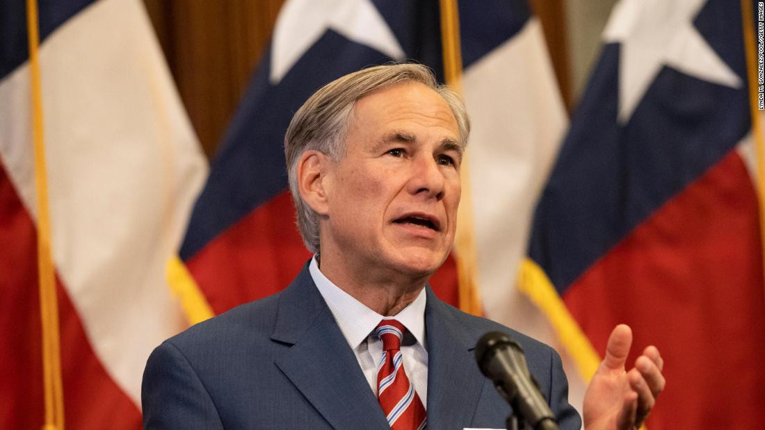 Texas governor bans mask mandates by state's public schools and local governments 1
