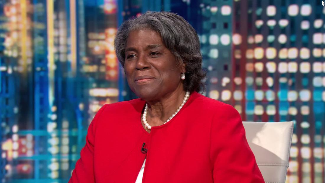 UN Ambassador Linda Thomas-Greenfield: Congress' work in wake of Capitol riot 'shows that our democracy is resilient' 1