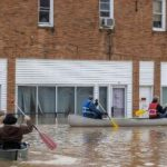 Covid-19 vaccines needed to be rescued by boat as heavy rain caused flooding in Kentucky 7