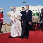 Pope Francis begins historic Iraq visit despite security and Covid-19 risks 17