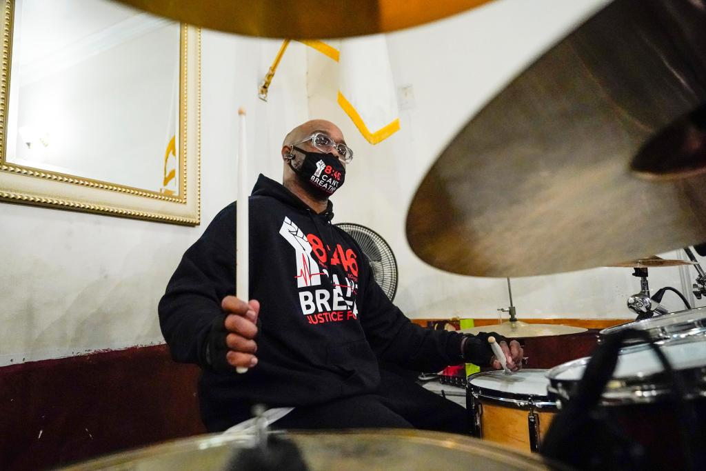 George Floyd kin joins protest anthem album project 1