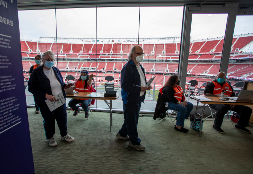 COVID update: 49ers take step toward Levi's Stadium re-opening this year 1