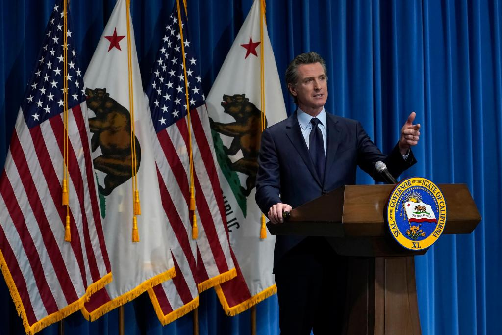 Watch: California Gov. Gavin Newsom on school reopening efforts, COVID vaccine distribution, Mar. 1 1
