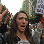 Algerian students restart weekly protests cut off by virus 8