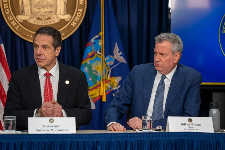 De Blasio Wants Cuomo to Leave Office if 'Horrible' Harassment Allegations Corroborated 1
