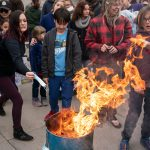 'I will not self-suffocate': Idaho protesters burn masks at state capital 10